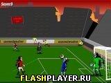 Игра Смертельное пенальти (Зомби-футбол) онлайн