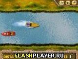 Игра Езда на моторной лодке онлайн