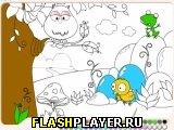Игра Лесная Раскраска онлайн