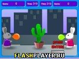 Игра Кролики и шарики онлайн