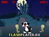 Игра Атака птичек Твити-зомби онлайн