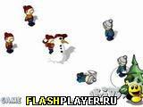 Игра Снежные баталии онлайн