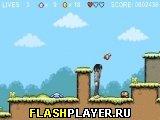 Игра Две девчонки в мире Марио онлайн
