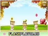 Игра Цветочный зайчик онлайн