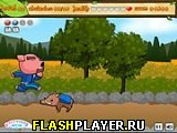 Игра Пробежка по саду онлайн