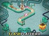 Игра Забавная фабрика игрушек онлайн