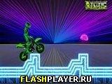 Игра Неоновый мотоциклист онлайн