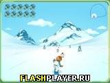 Сноубордист-спасатель