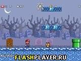 Игра Супер братья Марио 2: Звёздная схватка – Остров призраков онлайн