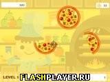 Игра Безумная стрельба пиццей онлайн
