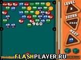 Игра Пузырьковый бильярд онлайн