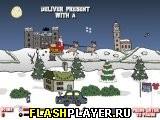 Игра Красная гонка Рудольфа онлайн