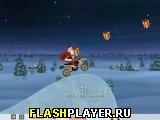 Сумасшедший гонщик Санта Клаус