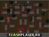 Игра Город в осаде - отбей атаку танков онлайн