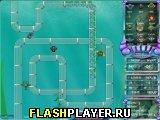 Игра Подводная оборона башни онлайн
