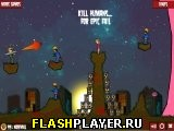 Игра Пламенная зомбука 2 - набор уровней онлайн