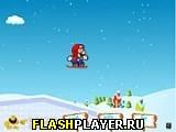 Марио и ледяной скейтинг