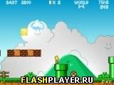Игра Барт и Гомер в мире Марио онлайн