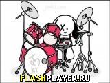 Игра Зайчик-барабанщик онлайн
