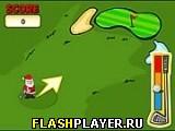Игра Рождественский гольф онлайн