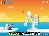 Игра Стреляй по пингвинам онлайн