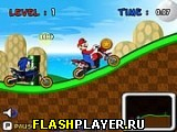 Марио против Соника: Гонки
