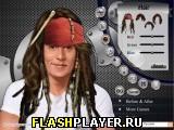 Игра Макияж Джонни Деппа онлайн