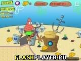 Игра Патрик и сырный байк онлайн