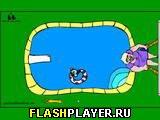 Игра Кошки в бассейне онлайн