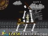 Игра Пинай головы зомби онлайн
