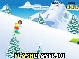 Барт на сноуборде