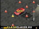Игра Сумасшествие с конусами онлайн