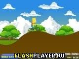 Барт Симпсон и велосипед