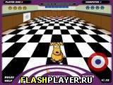 Игра Щенячий кёрлинг онлайн