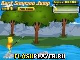 Барт Симпсон: Прыжки