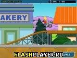 Игра Симпсоны и BMX онлайн