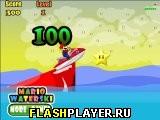 Марио на водных лыжах
