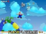Игра Супер Марио небесный стрелок онлайн