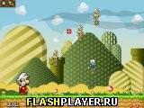 Марио и огненные шары 2 - набор уровней