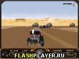 Игра Гонки монстров 3Д онлайн