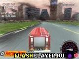 3Д гонка на пажарной машине