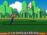 Игра Марио и баскетбол онлайн