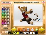 Игра Кун-фу панда 2: Раскраска онлайн