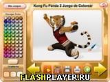 Кун-фу панда 2: Раскраска