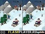 Игра Найди отличие – Зимняя сказка онлайн