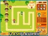 Игра Братья Марио: Оборона онлайн