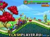 Марио и соревнования на байках