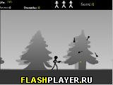 Игра Палочный человечек Водолаз-гонщик онлайн