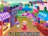 Игра Маленькая Хейзел в Диснейленде онлайн