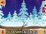 Игра Летающие снежки онлайн